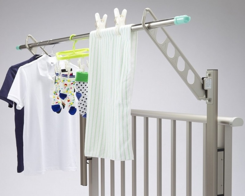 Non-Drop Laundry Pole Holders