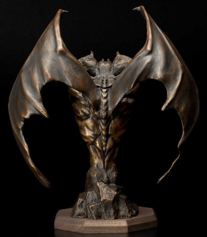 Bronze Devilman Statue-40th Anniversary Project