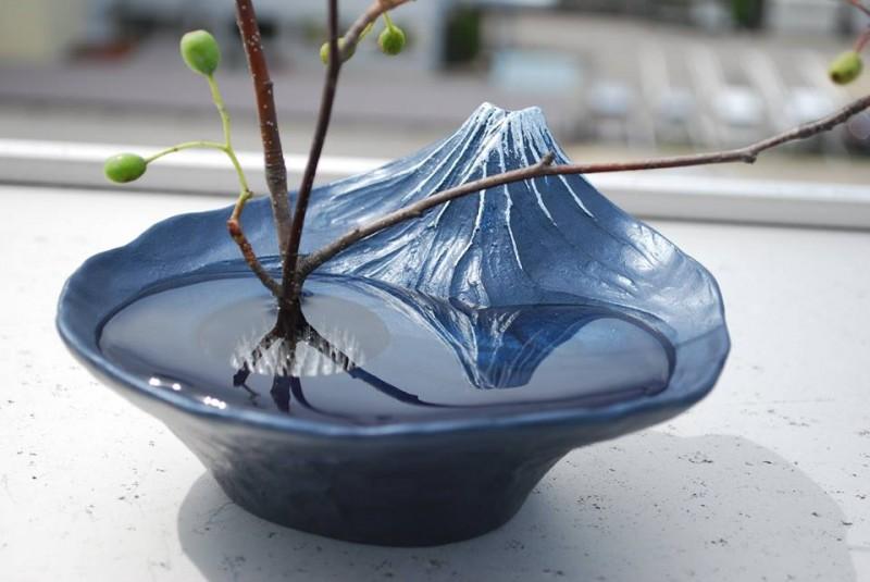 Aluminium Vase Collection – Mt Fuji