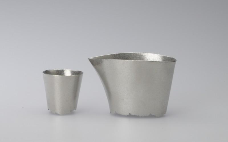 """Tin Tumbler Collection – shizuku 滴 """"Katakuchi set"""""""